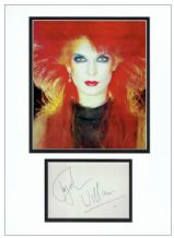 Toyah Wilcox Autograph Signed Display